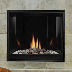The Premium Clean-Face Tahoe includes a tempered glass view window and a unique burner that delivers a rich flame pattern. The ceramic fiber rock set is required (but sold separately). Each rock piece is hand painted.