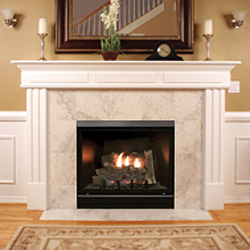 36 Tahoe Deluxe Clean Face Direct Vent Fireplace