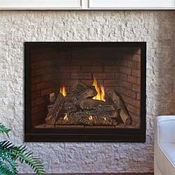 36 Tahoe Luxury Traditional Clean Face Direct Vent Fireplace with ...