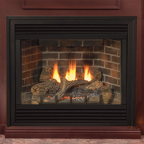 36 Tahoe Deluxe Direct Vent Fireplace (Millivolt/Pilot) - Empire