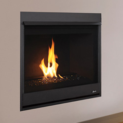 33 Clean Face Direct Vent Contemporary Fireplace