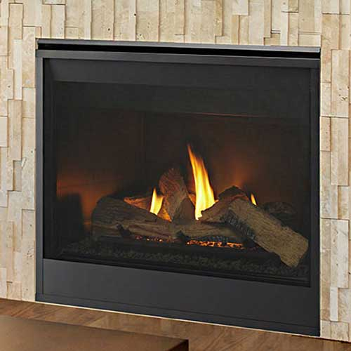 36 Meridian Intellifire Plus Direct Vent Fireplace Electronic Ignition Majestic