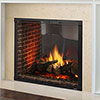 "42"" Marques II IntelliFire Plus See-Thru Direct Vent Fireplace  (Electronic Ignition) - Majestic"