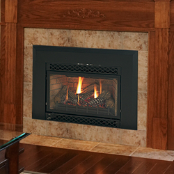 30 accent direct vent fireplace insert liner blower