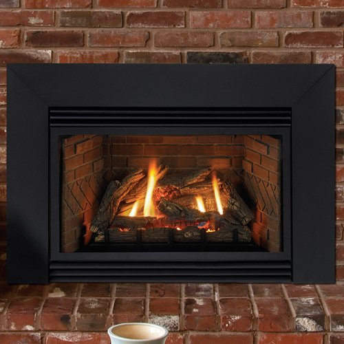 Wood Fireplace Insert With Blower
